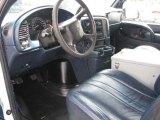 2005 Chevrolet Astro Cargo Van Blue Interior