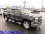 2005 Dark Gray Metallic Chevrolet Silverado 1500 Z71 Extended Cab 4x4 #54419295