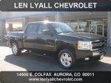 2009 Black Chevrolet Silverado 1500 LT Crew Cab 4x4 #54418419