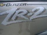 Chevrolet Blazer 2002 Badges and Logos