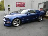 2007 Vista Blue Metallic Ford Mustang GT Premium Coupe #54418869