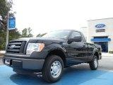 2011 Ebony Black Ford F150 XL Regular Cab #54418394