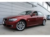 2011 Vermillion Red Metallic BMW 3 Series 328i xDrive Sedan #54418329