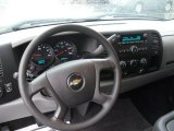 2010 Chevrolet Silverado 1500 LS Extended Cab Steering Wheel