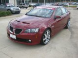 2009 Sport Red Metallic Pontiac G8 Sedan #54418780