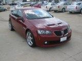2009 Pontiac G8 Sport Red Metallic