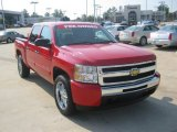 Victory Red Chevrolet Silverado 1500 in 2011