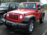 2011 Flame Red Jeep Wrangler Sport S 4x4 #54418233