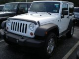 2011 Bright White Jeep Wrangler Sport S 4x4 #54418223