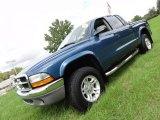 2004 Atlantic Blue Pearl Dodge Dakota SXT Quad Cab 4x4 #54418203
