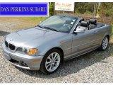 2004 Silver Grey Metallic BMW 3 Series 330i Convertible #54418139