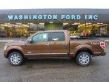 2011 Golden Bronze Metallic Ford F150 Platinum SuperCrew 4x4 #54418655