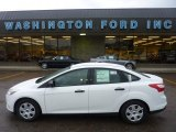 2012 Oxford White Ford Focus S Sedan #54418649