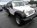 2009 Jeep Wrangler Stone White