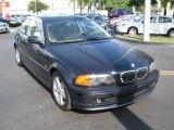 2002 Orient Blue Metallic BMW 3 Series 325i Coupe #54509505
