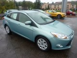 2012 Frosted Glass Metallic Ford Focus SE Sedan #54509236