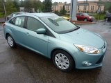 2012 Frosted Glass Metallic Ford Focus SE Sedan #54509233
