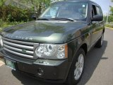 2008 Land Rover Range Rover Tonga Green Pearlescent