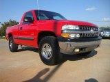 2000 Victory Red Chevrolet Silverado 1500 Regular Cab 4x4 #54509365