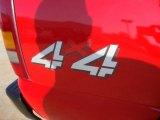 2000 Chevrolet Silverado 1500 Regular Cab 4x4 Marks and Logos