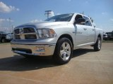 2012 Bright Silver Metallic Dodge Ram 1500 Big Horn Crew Cab 4x4 #54509359