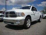2011 Bright White Dodge Ram 1500 Big Horn Quad Cab #54509358