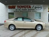 2012 Sandy Beach Metallic Toyota Camry XLE V6 #54509202