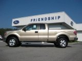 2011 Pale Adobe Metallic Ford F150 XLT SuperCab 4x4 #54535390