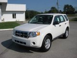 2012 Ford Escape White Suede