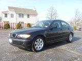 2004 Jet Black BMW 3 Series 325i Sedan #5438305