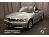 2005 Titanium Silver Metallic BMW 3 Series 325i Convertible #5427657