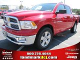 2012 Flame Red Dodge Ram 1500 Big Horn Crew Cab #54538670