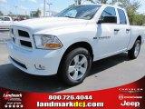 2012 Bright White Dodge Ram 1500 Express Quad Cab #54538669
