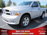 2012 Bright Silver Metallic Dodge Ram 1500 Express Regular Cab #54538666