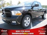 2012 Black Dodge Ram 1500 Express Quad Cab #54538662