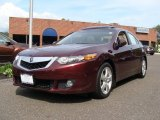 2009 Basque Red Pearl Acura TSX Sedan #54539035
