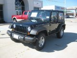 2012 Black Jeep Wrangler Rubicon 4X4 #54538839