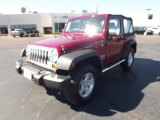 2011 Deep Cherry Red Crystal Pearl Jeep Wrangler Sport S 4x4 #54538827