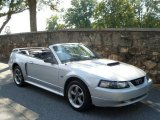 2002 Satin Silver Metallic Ford Mustang GT Convertible #54538587