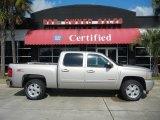 2008 Silver Birch Metallic Chevrolet Silverado 1500 LTZ Crew Cab 4x4 #54538575