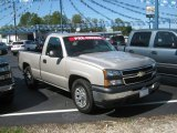 2006 Silver Birch Metallic Chevrolet Silverado 1500 LS Regular Cab #54538963
