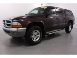 2004 Deep Molten Red Pearl Dodge Dakota SLT Quad Cab 4x4 #54538522