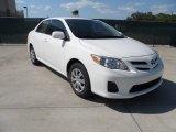 2011 Super White Toyota Corolla LE #54538746