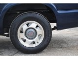 GMC Sonoma 2001 Wheels and Tires