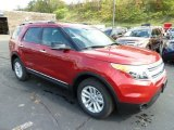 2012 Ford Explorer Red Candy Metallic