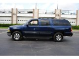 Indigo Blue Metallic Chevrolet Suburban in 2001
