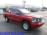 2010 Inferno Red Crystal Pearl Dodge Dakota Big Horn Extended Cab 4x4 #54577963