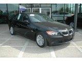 2007 Jet Black BMW 3 Series 328i Sedan #5438550