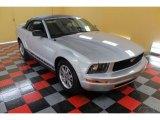 2005 Satin Silver Metallic Ford Mustang V6 Premium Convertible #54577711