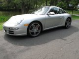 2008 Arctic Silver Metallic Porsche 911 Targa 4S #54577422